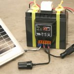ソーラー用モバイルバッテリー