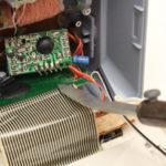 自作コテ先+電圧コントローラーで液晶修理