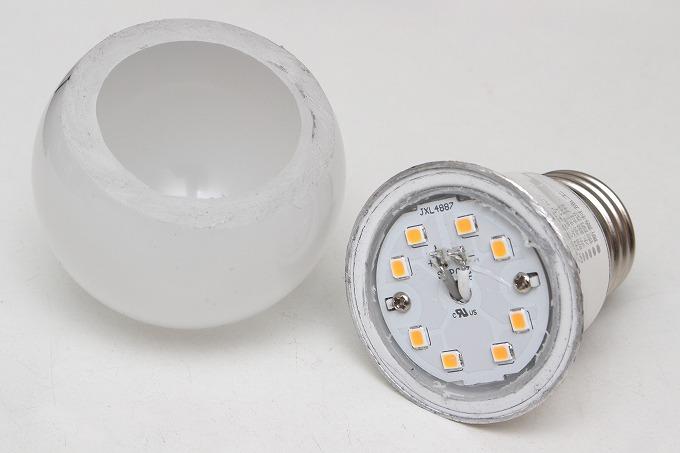 ダイソーLED電球を改造
